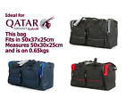 Qatar Airways Cabin Hand Luggage Travel Bag Holdall Fits in 50cm x 37cm x 20cm