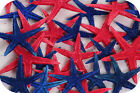 Coloured Starfish (Red, Blue or Mix Pack of 10 Starfish)  4cm - 5cm