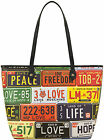 Love Moschino Womens Licence Print Tote Bag