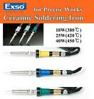 NEW EXSO Ceramic Heater Soldering Iron for Precise Works 110V 220V 240V 18W~40W