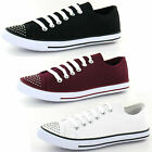 Wholesale Ladies Canvas Shoes 16 Pairs Sizes 3-8  F8955