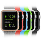 6 Color Pack Lightweight Case Hard Protective Bumper Cover for Apple Watch 2015