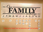 Family Birthday Celebrations Anniversary Moments Sticker Decal for Board