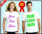 Personalized Custom T Shirt - with Photo & Text and/or Logo make your own design