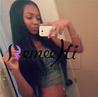 Nina silky straight 100% humam hair full/front lace wig baby hair baby hair