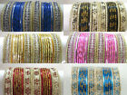 Indian Traditional Bollywood Bridal Costume Wedding Fashion Jewelry Bangles Sets