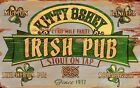 IRISH PUB ~ STOUT ~ Handcrafted Custom Made Wood Sign w/ Your Name ~ by PLD