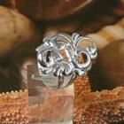 STERLING SILVER FLORAL RING SOLID .925 /NEW SIZE 5-12 JEWELRY