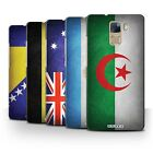 STUFF4 Phone Case/Back Cover for Huawei Honor 7 /Flags