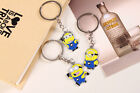 New Despicable Me Minions Metal Key Ring Chain Enamel Charm Party Bag Fillers UK