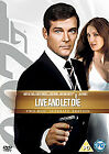 LIVE AND LET DIE DVD JAMES BOND 007 ULTIMATE EDITION Roger Moore Brand New UK £4.75 GBP