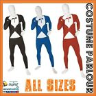 Mens Tuxedo Bucks Party Zentai Full Body Skin Suit Fancy Dress Costume All Sizes