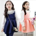 Autumn Girl Dresses Girls Long sleeve party dresses Children kids princess dress