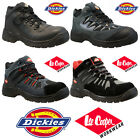 MENS GROUNDWORK LEATHER SAFETY WORK BOOTS STEEL TOE CAP SHOES TRAINER HIKER SIZE