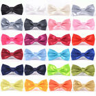 mens Pre tied satin bowties adjustable bow ties