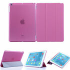 Ultra Slim Magnetic Leather Smart Cover For Apple Ipad 5/Air With Hard Back Case