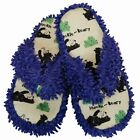 Lazy One Spa Slippers Thong Purple Cream Huckle Beary Bear