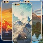 for iPhone 6 / 6S - Outdoor Nature Scenary Ultra Thin Soft TPU Rubber Case Cover