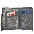 Men's Nylon Commando Wallet BiFold 5 Inside Pockets Velcro Closure Many Styles