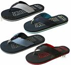 TOMMY HILFIGER MEN'S FLIP FLOPS/ SUMMER SANDALS BLACK/ NAVY UK SIZE 7,8,9,10 New