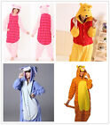 Winnie the pooh characters Unisex Onesiee Fancy Dress Costume Hoodies Pajama