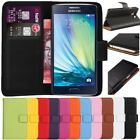Premium Leather Flip Wallet Case Cover For Samsung Galaxy A5 + Free Screen Guard