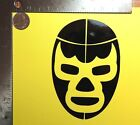 Blue Demon Lucha libre Mexican wrestling mask die cut vinyl decal sticker 3 size