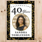 Personalised 18th 21st 30th 40th 50th Birthday Party PHOTO Poster Banner N36