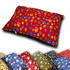 NEW LARGE DOG BED WITH REMOVABLE ZIPPED COVER WASHABLE PET CUSHION