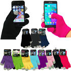 MENS or LADIES TOUCHSCREEN SOFT GLOVES WARM KIDS TOUCH SCREEN IPHONE TABLET IPAD
