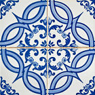 TILES DECALS SET OF 24 Portuguese Tile Decals Stickers for Ceramic Kitchens h14