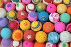 BATH BOMBS FIZZY LOT OF 14 2.5 oz. Premium Lush Type  DRY SKIN ASSORTED SCENT