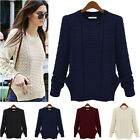 Women's Casual Long Sleeve Knitwear Jumper Cardigan Coat Jacket Sweater New Sale
