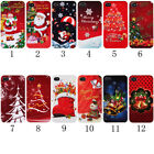 Merry Christmas Painted Phone Hard Skin Case Cover For Apple iPhone 4 4S