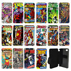DC Marvel comic book Flip Wallet cover case for Apple iPhone No.2