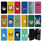 DC Marvel superhero comic Minimal Flip Wallet cover case for Apple iPhone No.23