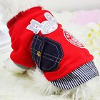 Pet Puppy Dog Cat Warm Clothes Sweater Winter Coat Jacket Soft Costume Apparel