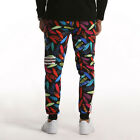 AM1 Men Fashion Sport Casual Trousers Plus Size Dance Pants Hiphop Slacks Jogger