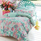 Accessorize Light Green Floral Print 'Bali' Bedding Set From Debenhams