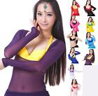 Hot Women's Sexy Belly Dance Costumes Dancing Yoga Clothing Top Bodywear Low CUT