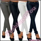 Sexy Ladies Skinny Treggings Women's Hipsters Office Pants Size 8,10,12,14 UK