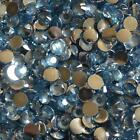 1000 Flat Back Resin Rhinestones Gem Diamante Crystal 2 3 4 5 6mm 33 color