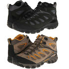 Merrell Mens Pulsate Mid Waterproof Lace Up Hiking Trail Winter Snow Boots Shoes