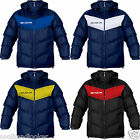Givova Podio Winter Warm Padded Sports Coat Jacket Mens S M L XL Black Blue Red