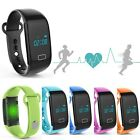 JW018 Sport Heart Rate Monitor Bracelet Bluetooth Watch Fitness Activity Tracker