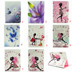 """Butterfly Leather Wallet Case Cover For Samsung Galaxy Tab S2 8"""" T710& 9.7"""" T810"""