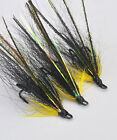 Monkey Fly x 3 salmon flies - doubles and trebles sizes 8, 10 and 12