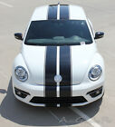 2014 Volkswagen Beetle RALLY Hood Bumper Roof Trunk Vinyl Graphic Decals Stripes