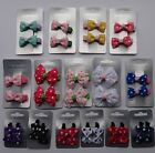 2 Spotty Bow clips- various designs, sizes and colours *(Sale items)