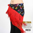 NEW latest belly dance costumes hip scarf wrap belt skirt flowers tassels